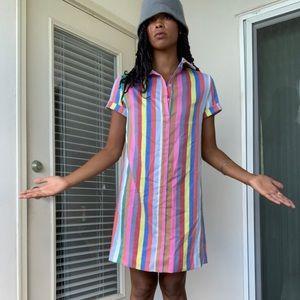 Vintage rainbow dress